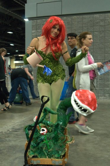 Awesome Con 2015 cosplay Saturday - Poison Ivy