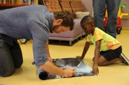 Chris Pratt at Our Lady of the Lake Children's Hospital - autographing