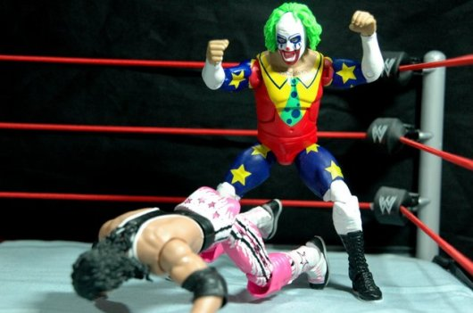Doink the Clown WWE Mattel figure review - coming after Bret