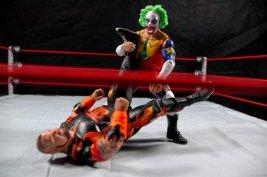Doink the Clown WWE Mattel figure review - stump puller