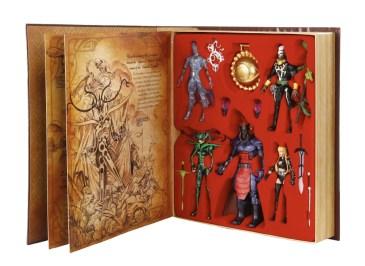 Dr. Strange Marvel Legends boxset -in package