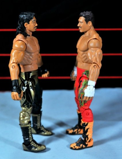 Eddie Guerrero Hall of Fame figure review -face to face with Legends 6 Eddie G