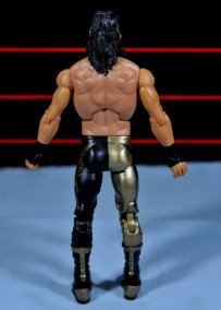 Eddie Guerrero Hall of Fame figure review -figure rear