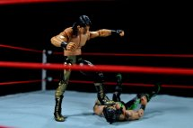 Eddie Guerrero Hall of Fame figure review -stomping X-Pac