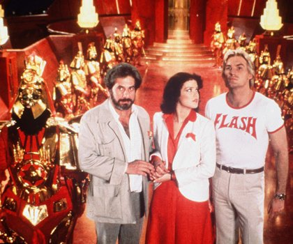 Flash Gordon - Dr Zarkov, Dale and Flash