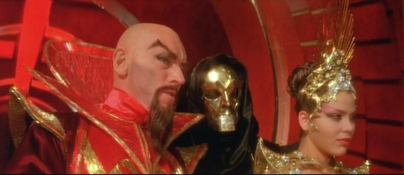 Flash Gordon - Ming, Klytus and Princess Alura
