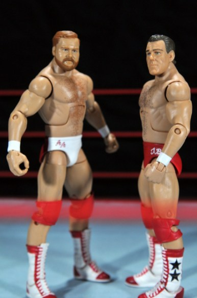 Four Horsemen figure review - Arn and Tully