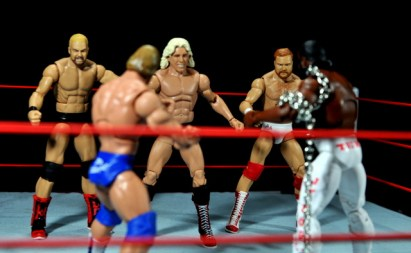 Four Horsemen figure review - Four Horsemen vs Dudes with Attitudes