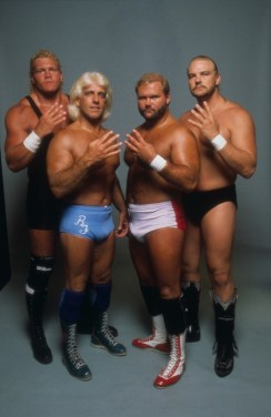 Four Horsemen Ric Flair blue tights