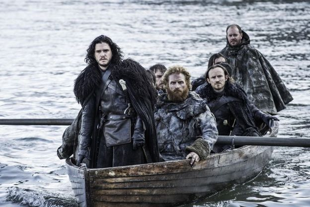 Game of Thrones - Hardhome - Jon, Tormund and Night's Watch