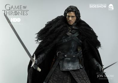 Game of Thrones Jon Snow figure - with sword and dagger