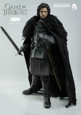 Game of Thrones Jon Snow figure - with sword at ready