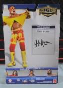 Hulk Hogan Hall of Fame figure - package back