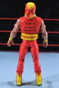 Hulk Hogan Hall of Fame figure - rear
