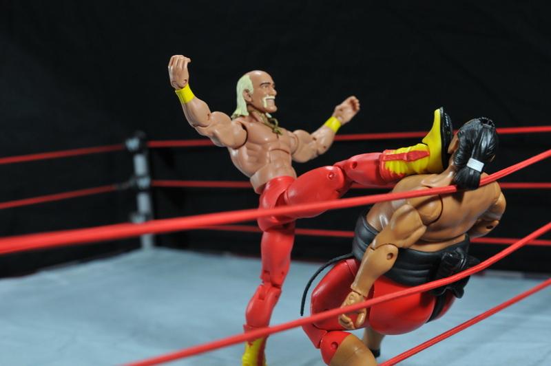 Hulk Hogan Hall of Fame figure - the big boot