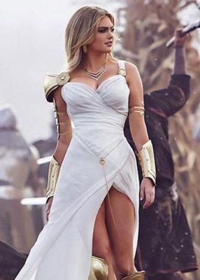 Kate Upton warrior princess