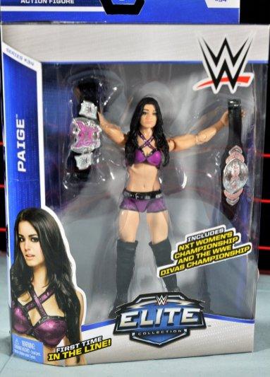 Paige WWE Mattel figure -front package