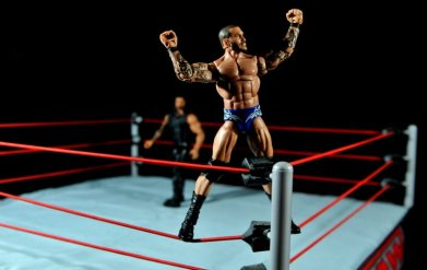 Randy Orton Mattel WWE Elite 35 -mounting top rope pose