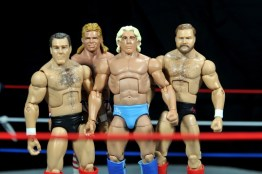 Ric Flair Defining Moments figure review - Four Horsemen