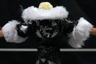 Ric Flair Defining Moments figure review - robe rear