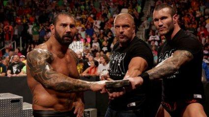 Triple H with Evolution vs Shield
