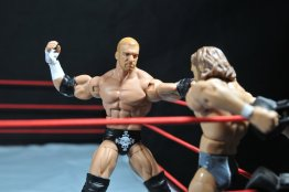 Triple H WWE Mattel Elite 35 - attacking Daniel Bryan