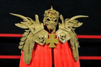 Triple H WWE Mattel Elite 35 - cloak mask closeup