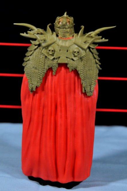 Triple H WWE Mattel Elite 35 - cloak rear