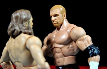 Triple H WWE Mattel Elite 35 - face off with Daniel Bryan