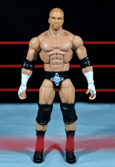 Triple H WWE Mattel Elite 35 - front