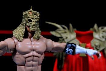 Triple H WWE Mattel Elite 35 - with helmet mask on