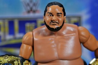 Yokozuna figure review Hall of Fame - close up