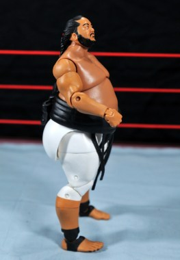 Yokozuna figure review Hall of Fame - right side