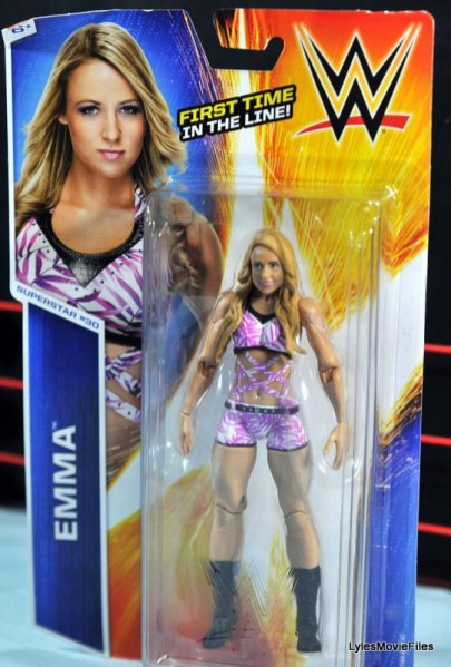 Emma WWE Mattel Basic 30 - front package