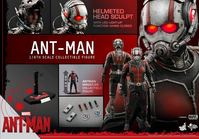 Hot Toys Ant-Man figure -collage