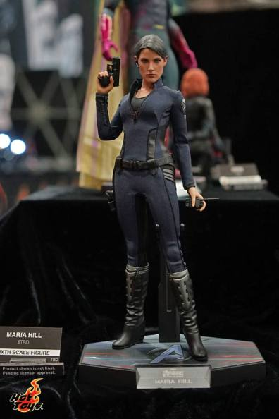Hot Toys SDCC'15 - Maria Hill front
