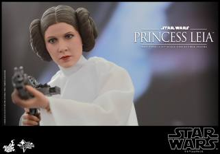 Hot Toys Star Wars Princess Leia - close up