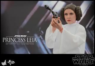 Hot Toys Star Wars Princess Leia -shooting
