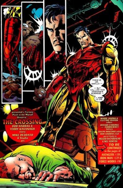 Iron Man kills Avengers nanny The Crossing