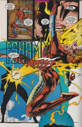 Iron Man kills Yellowjacket Avengers The Crossing