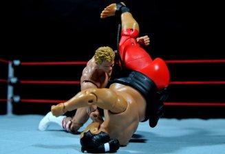 Lex Luger WWE Mattel Elite 30 figure -bodyslamming Yokozuna