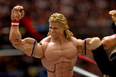 Lex Luger WWE Mattel Elite 30 figure -headsculpt detail