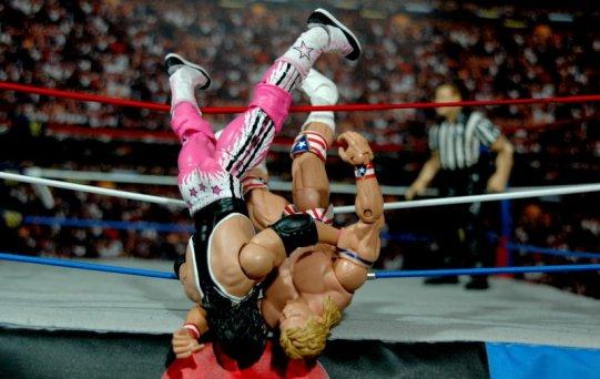 Lex Luger WWE Mattel Elite 30 figure - Royal Rumble ending