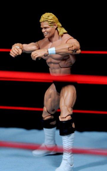 Lex Luger WWE Mattel Elite 30 figure - The Total Package pose
