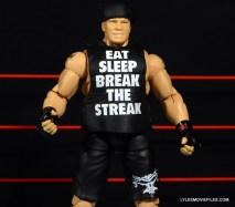 Mattel Brock Lesnar WWE figure - close up shirt detail