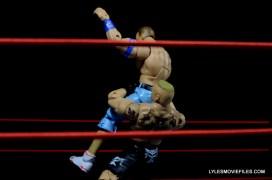 Mattel Brock Lesnar WWE figure - suplex Cena