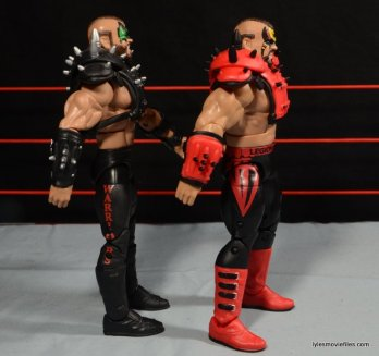 Mattel WWE Elite 30 Legion of Doom - Animal left side detail