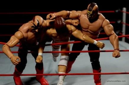 Mattel WWE Elite 30 Legion of Doom - double clotheslining DiBiase