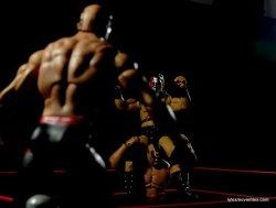 Mattel WWE Elite 30 Legion of Doom - Hawk about to fly