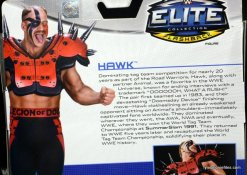 Mattel WWE Elite 30 Legion of Doom - Hawk card bio